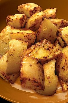 Baked Adobo Potato Wedges.  So quick & easy to cook! You only need 2 ingredients.  Go here to get the recipe http://www.mccormick-asianflavours.ca/fl-en/recipesDetail.php?id=30 #OnlineCookOff #FilipinoFood