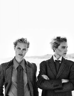 Dree Hemingway and Hannah Holman by Boo George