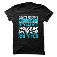 Love being -- CLINICAL-RESEARCH-COORDINATOR