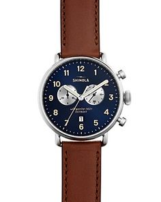 Shinola The Canfield Chronograph Watch d3818480ca0