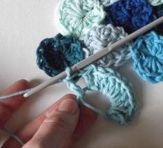 How to crochet sea pennies with a magic circle start :)
