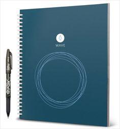 ノートである。 「Rocketbook Wave(ロケットブック・ウェーブ)」は、一見普通の80ページの手書き用ノートだが、実はあるヒミツがある。