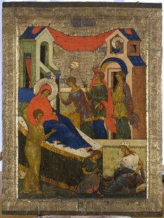Iconostas Rusia sec. Life Of Christ, Russian Icons, Best Icons, Byzantine Icons, Orthodox Icons, Sacred Art, Christian Art, Illuminated Manuscript, Nativity