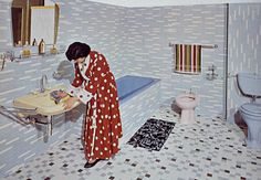 #retro Villeroy & Boch bathroom design