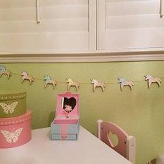 Pastel Unicorn Party Garland