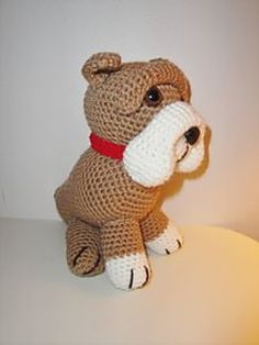 a34f47d0cfc Old English Bulldog pattern by Chiwaluv Amigurumi Critters