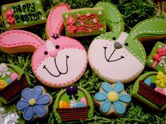 Easter Bunny Cookies :)