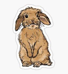 bunny/rabbit sticker