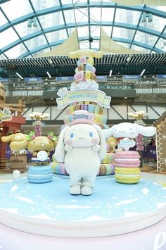 #Cinnamoroll #happytime -- Sunshine City Plaza, Hong Kong |( ̄3 ̄)|