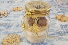 Muffin Backmischung im Glas für Mandel Muffins perfekt für Weihnachten