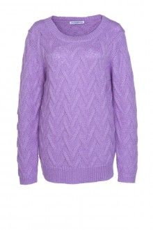 SIS by Spijkers en Spijkers MOHAIR PULLOVER (LILAC)  215EURO  http://spijkersenspijkers.nl/shop/all-products/mohair-pullover-lilac.html #mohair #pullover #knitwear #oversized #fashion #fashion2013 #fashion2014 #style #mode #inspiration #christmasgift #christmas #gift