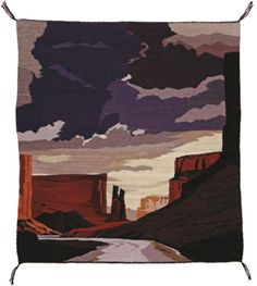 Begay's Tsegi: Spider Rock, on view at the C. Navajo Weaving, Navajo Rugs, 8th Of March, January 8, West Sacramento, Family Events, Event Calendar, Fiber Art, Nativity