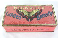 Golden Butterfly Cigarettes