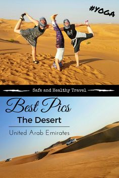 Look at these Best Pics taken in the Desert of the UAE! Wouldnt you want to go there too and pose in that sand? I loved every minute of it!