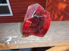Slag Cullet Glass Rock Ruby Red 3 2 lbs Rocks r33 Landscaping Deco Aquarium Yard   eBay