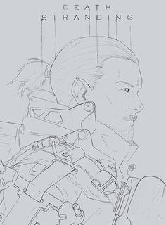 Sam by TomatoStyles on DeviantArt Death Stranding Ps4, Kojima Productions, Magnum Opus, I Still Love You, Game Design, Apocalypse, Art Reference, Concept Art, Anime Art