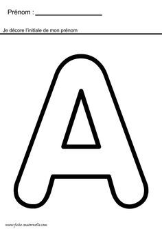 Name Activities, Alphabet Activities, Preschool Worksheets, Sons Initiaux, Future School, Alphabet Crafts, French Class, Learning To Write, Letter Templates