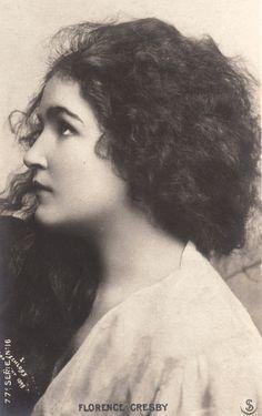 Vintage beautiful lady in profile I by MementoMori-stock.deviantart.com on @deviantART