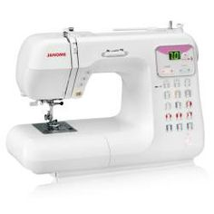 janome pink ribbon sewing machine