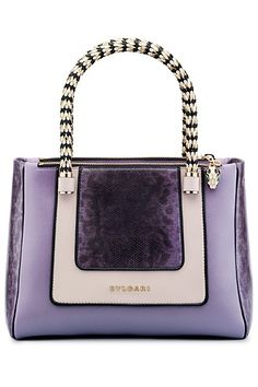 Bvlgari Handbags and wallets│Bolsos y Carteras - - The Purple, Purple Colors, Stylish Handbags, Purses And Handbags, Handbags Online, Fendi Purses, Ladies Handbags, Beautiful Handbags, Beautiful Bags