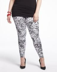 printed leggings I have these too! Elle Fashion, Addition Elle, Plus Size Pants, Printed Leggings, Sweatpants, Summer, Shopping, Collection, Summer Time