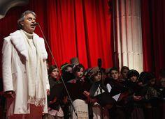 Andrea Bocelli se apresentará em São Paulo com participações especiais
