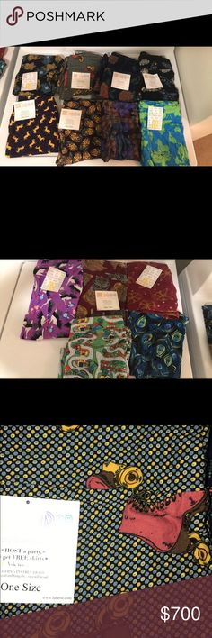 LulaRoe Destash Comment for which one you want. All are unicorns :) Still available: Roller skates, Disney roses, planes, world map, Russian dolls LuLaRoe Pants Leggings