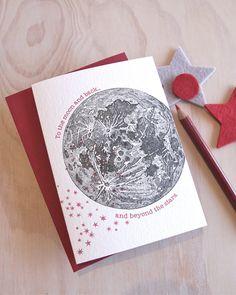 Valentine's Day Mother's day Letterpress by fluidinkletterpress