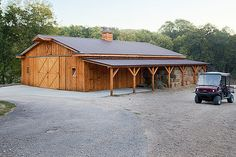 40'x60' Gable style with a 12' lean-to ~~ Barn Kings Sheds Garages Steel Buildings Metal Buildings Storage Sheds Steel Structures Wood Buildings Garage Kits Pole Shed Farm Building Wood Barn