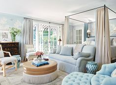 7 Things I Learned from Reese Witherspoon's Decorator, Mark D. Sikes - Feel Blue from InStyle.com