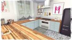 22 + The Hidden Truth About Sims 4 Cc Furniture Kitchens Decor Revealed by an Old Pro - lowesbyte Sims 4 Cc Furniture Living Rooms, Kitchen Furniture, Kitchen Decor, Sims 4 Kitchen Cabinets, Kitchen Cabinet Design, The Sims 4 Pc, Sims Cc, Los Sims 4 Mods, Rose House