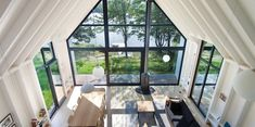Montreal-based Architecture has given the traditional lakeside cottage a modern refresh in Window on the Lake, a minimalist timber cabin that derives its Lakeside Cottage, Lake Cottage, Cottage Style, Cottage Design, Minimalist Window, Minimalist Design, Timber Cabin, Wood Cabins, Cedar Cabin