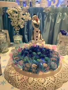 Frozen decorations