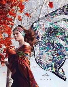 Hermès campaña publicitaria otoño-invierno 2012-2013
