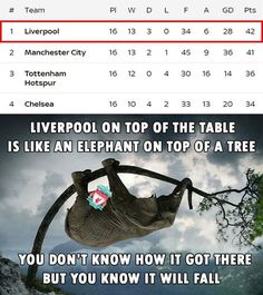 Liverpool Liverpool Memes, Liverpool Football Club, Liverpool Fc, Funny Football Memes, Football Humor, Funny Memes, Manchester United Club, Chelsea Football, Tottenham Hotspur