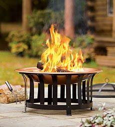 Plow and Hearth | awesome site for indoor and outdoor fire needs :)