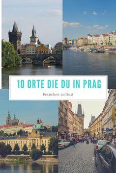 Ob du nun das erste mal in Prag bist oder Wiederholungstäter, ob du nur ein Wochenende oder eine ganze Woche zur Verfügung hast, hier sind 10 Orte die du auf deiner Pragreise auf jeden Fall besuchen solltest.