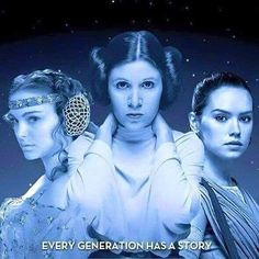Every generation has a story. Star Wars