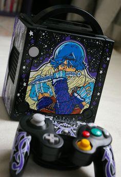 "Custom Gamecube ""BATEN KAITOS"" by Oskunk"