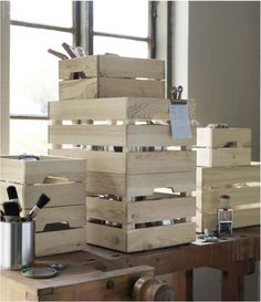 New Products From IKEA for Spring. KNAGGLIG storage crates. Would be great for toy storage