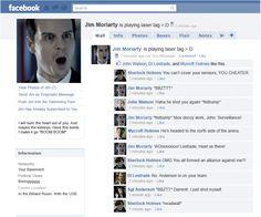 Moriarty's Facebook.