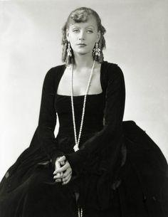 "Greta Garbo in ""ROMANCE"". Photo by George Hurrell."