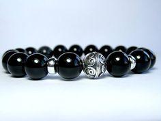 Mens Onyx Bracelet Mens Beaded Bracelet Bracelet for Men