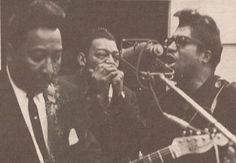 Little Walter, Muddy Waters, and Bo Diddley