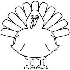Full Page Coloring Sheets Turkey Bing