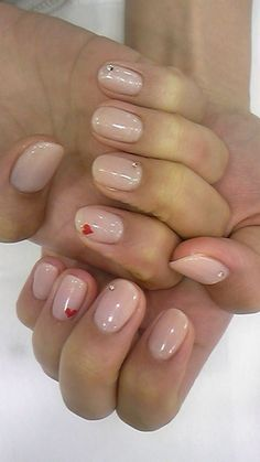 Super cute for Valentine's day. Last pinner said.-just use red sharpie for hearts… Super cute for Valentine's day. Last pinner said.-just use red sharpie for hearts… Related Posts 35 Cute Valentine's Day Nail Art Designs Cute nails! Frensh Nails, Manicure E Pedicure, Nude Nails, Hair And Nails, Pedicure Ideas, Nail Ideas, Acrylic Nails, Fancy Nails, Pretty Nails