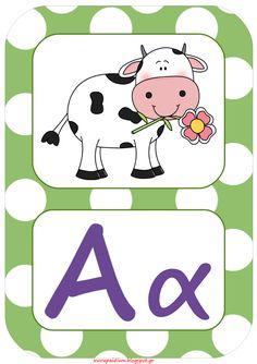 """Για εσάς που θέλετε να δώσετε έναν """"αέρα"""" ανανέωσης στην τάξη σας και να βάλετε """"στην άκρη"""" τις παλιές σας καρτέλες για το αλφάβητο, παραθ... Alphabet Letter Crafts, Preschool Letters, Pre Reading Activities, Activities For Kids, Early Education, Special Education, Greek Alphabet, Future Classroom, Classroom Decor"""
