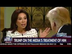 Judge Jeanine Pirro , one on one,  Full Interview  With Donald Trump   [...