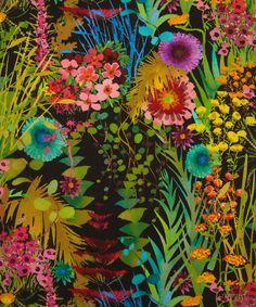 Tresco A Torrington Crepe De Chine, Liberty Art Fabrics