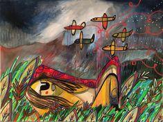 Mixta/ tela @the_aper Painting, Art, Tela, Paintings, Art Background, Painting Art, Kunst, Performing Arts, Painted Canvas